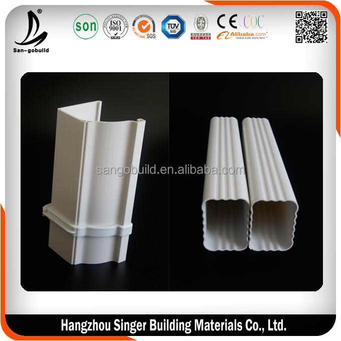 PVC Hujan Selokan Ukuran PVC Talang Persegi Harga Malaysia