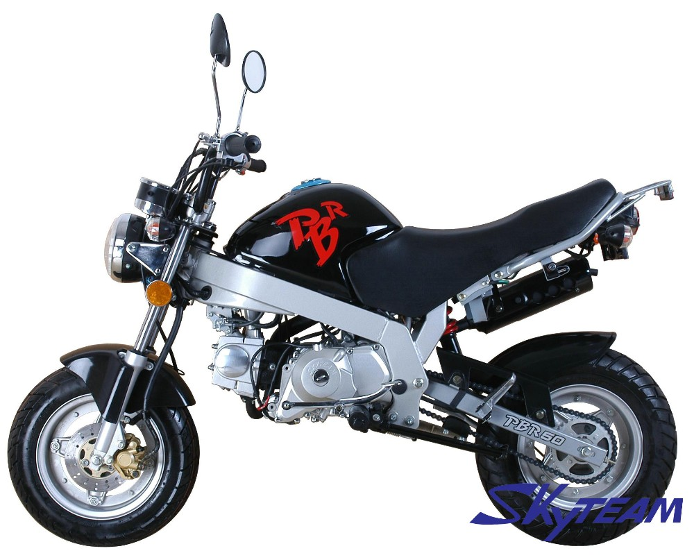 SKYTEAM 125cc 4 stroke PBR monkey motorcycle monkey bike (EEC EUROIV EURO4 APPROVED)