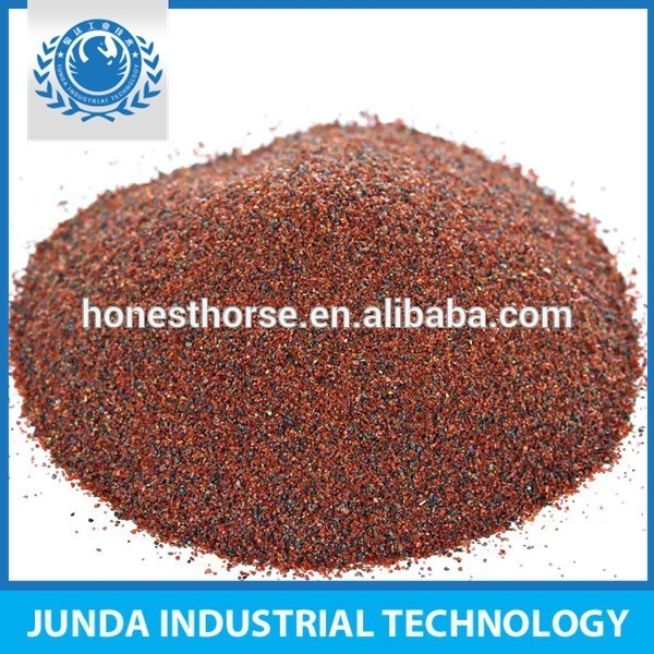 Almandite 97 98% almandine garnet minerals used in water filtration of cleansing drinking water or waste