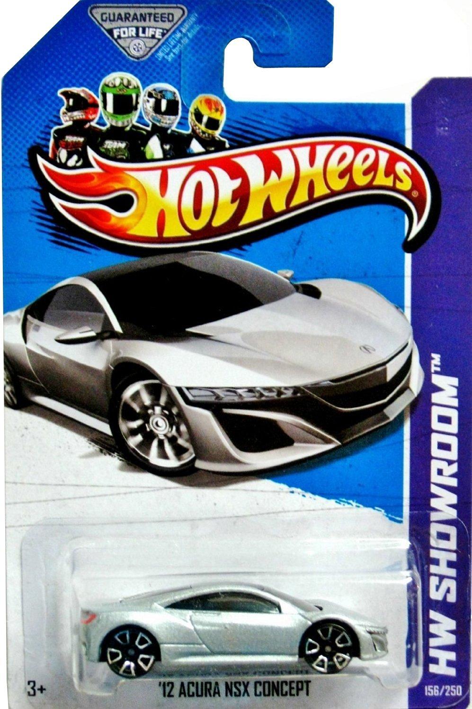 Get Quotations · 2013 Hot Wheels Hw Showroom - '12 Acura NSX Concept