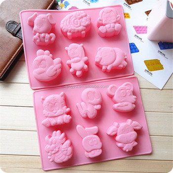 Zodiac Signs Animals Silicone Cake Baking Mold 12 Animals Cake Mold - Buy  12 Animals Cake Mold Product on Alibaba com