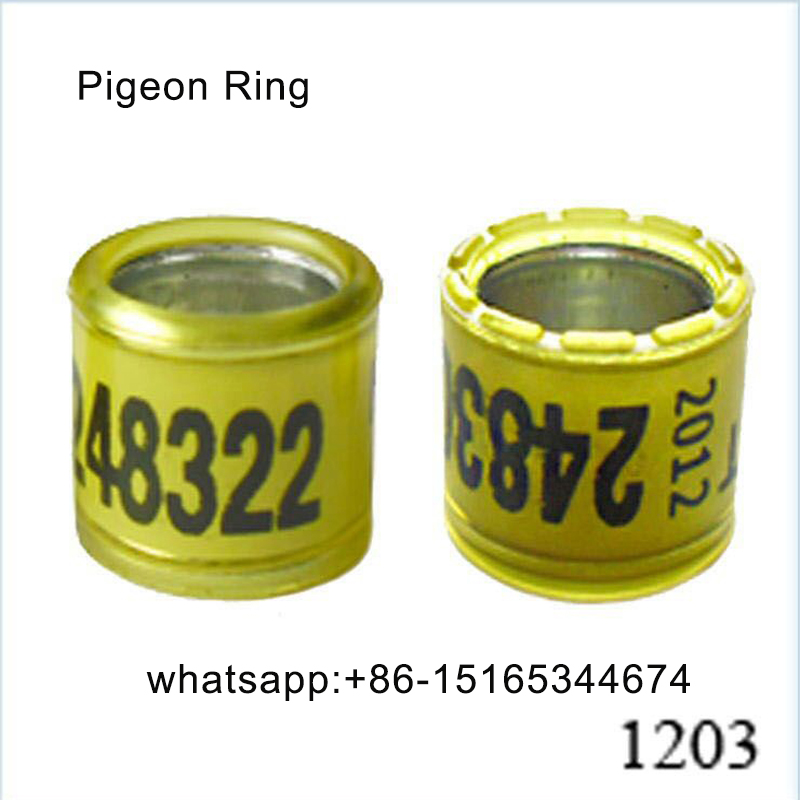 Good quality customized pigeon feet ring for sale