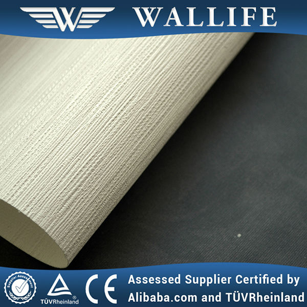 WLF0501 / Best quality fabric backed wallpaper / wall fabric coverings