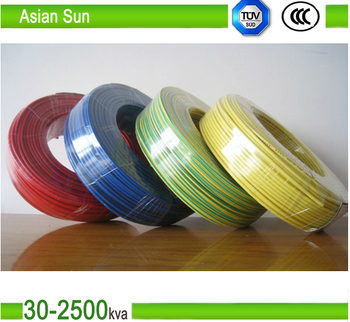 da yuan cable single core copper pvc house wiring 10mm electrical electrical wire supply at House Wiring Product