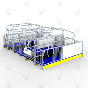 Pig Equipment Pig Farrowing Crates Sow Farrowing Pen