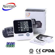 Arm-type Fully Automatic arm Blood Pressure Monitor CE FDA approved Hot sell wrist type blood pressure monitor price