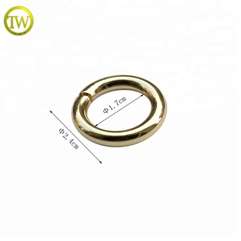 Metal fittings for leather bags,metal o ring,handbag hardware decoration