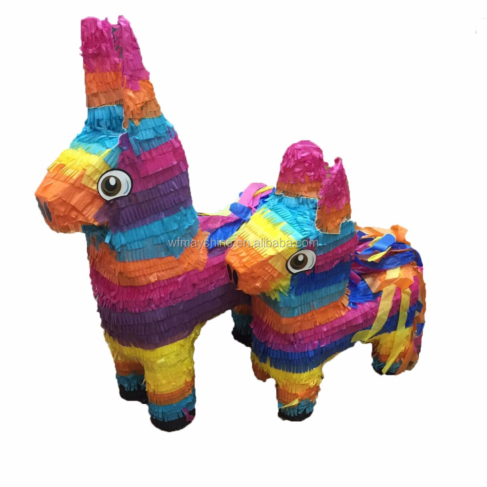 Mini Donkey Pinata Colored Donkey Pinata - Buy Mini Pinata,Mini Donkey  Pintata,Donkey Pinata Product on Alibaba com