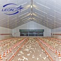 Fully automatic poultry broiler equipment with CE certificate