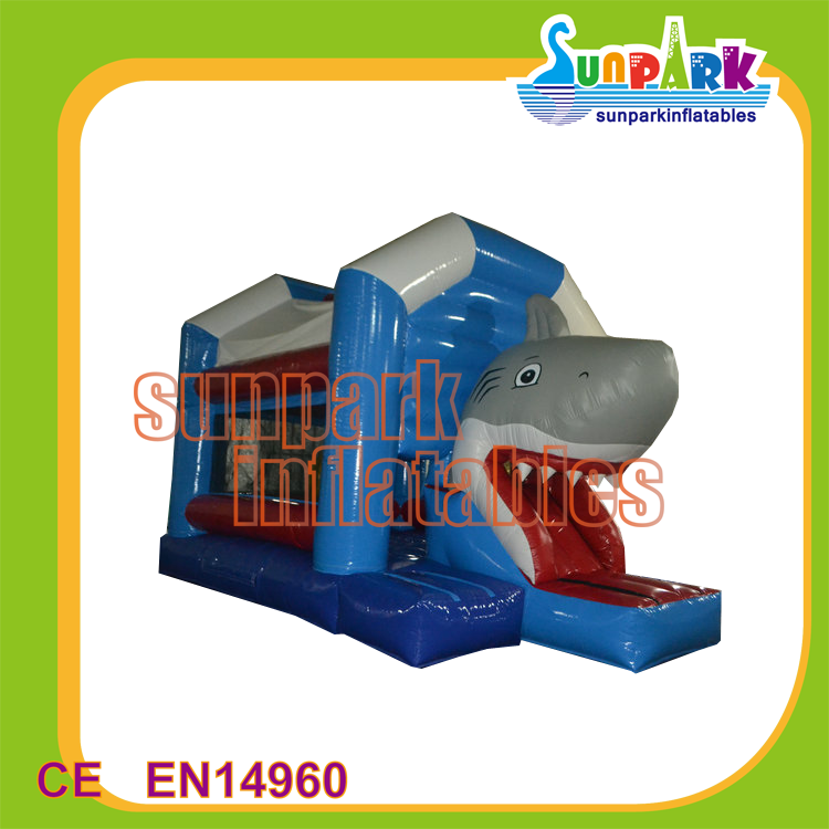 China Air Bouncer Inflatable Shark Bouncy Jumping Castle for Sale