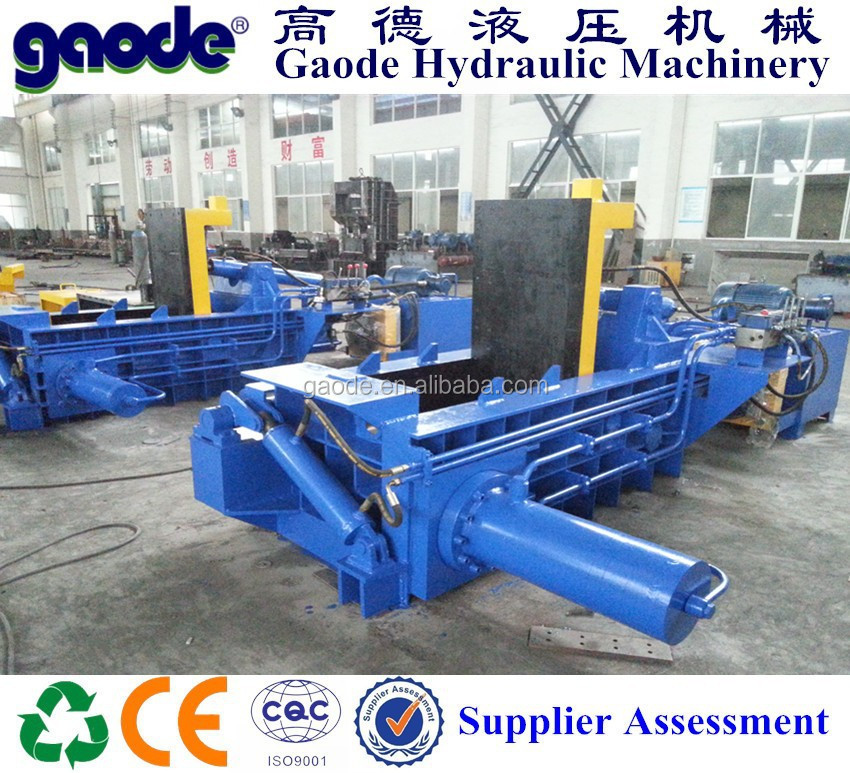 hydraulic recycling crushed car bailer machine for sale