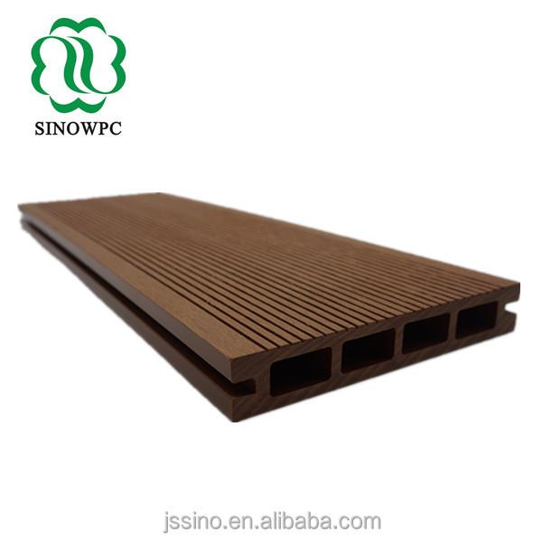 aspecto de madera baldosas baldosas de balc/ón Baldosas de pl/ástico WPC para terraza baldosas de clic