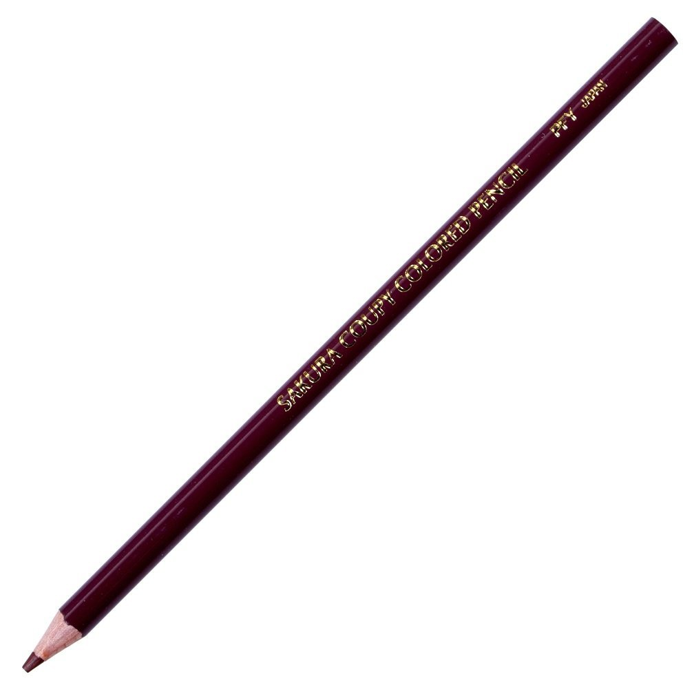 Sakura Color Kupi colored pencil PFY rose # 12 brown