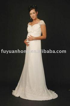 Wedding Dresses For Pregnant Women/bridal Wedding Gown/fyh-wd1037 ...