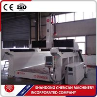 Wood carving cnc machine/3 axis wood pattern making machine 2040 with mechanical spindle BT40