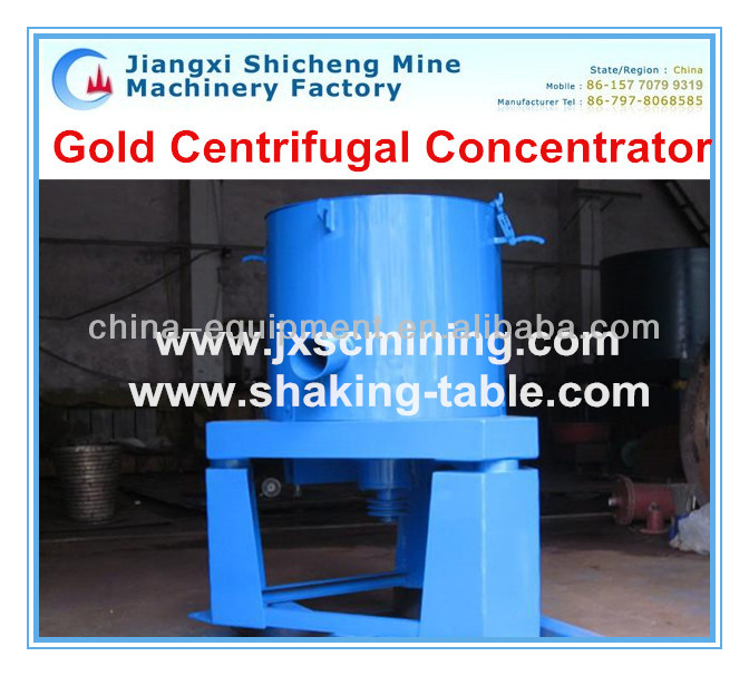 Small Scale Gold Mining Macgine, Centrifuge Concentrator
