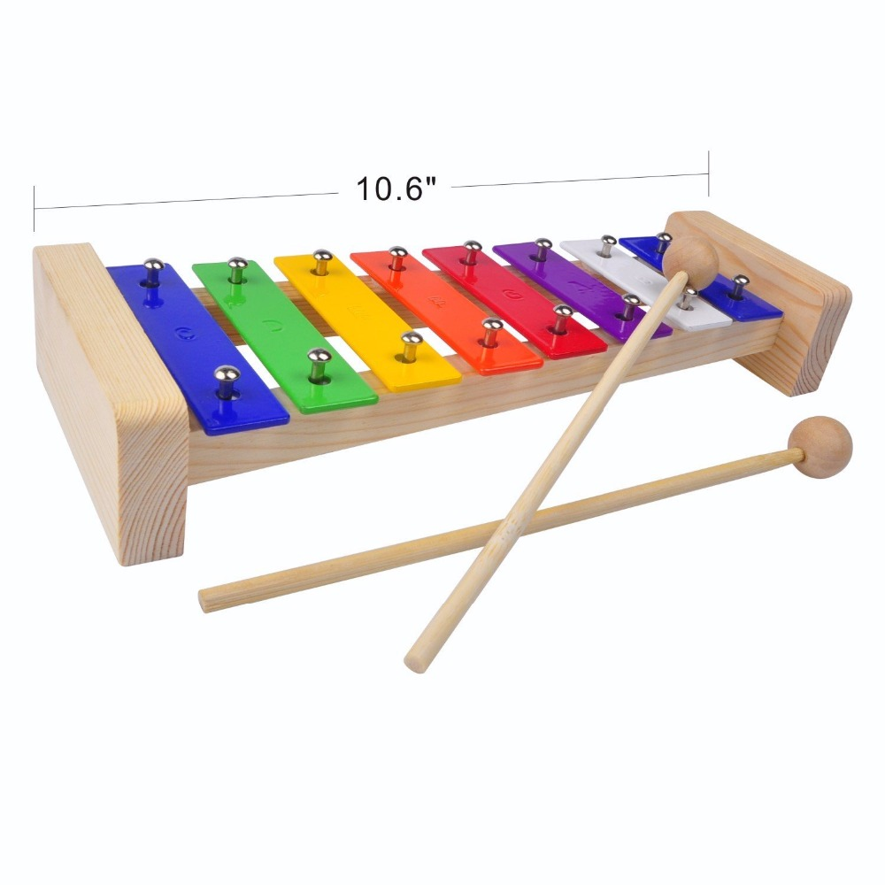 Best Perfectly Sized Musical Toy Wooden Xylophone for Kids