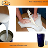 Factory 2 parts mold making liquid silicone rubber price