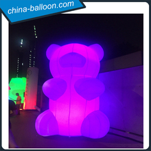best price giant inflatable led bear for Electric Run Inflatable Decoration and Event