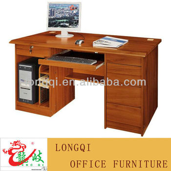 High Quality Cheap Simple Modern Office Home MDF Wooden Computer Desk  Laptop Table