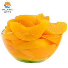 Market price Canned yellow peach slices in Light Syrup Canned Fruit