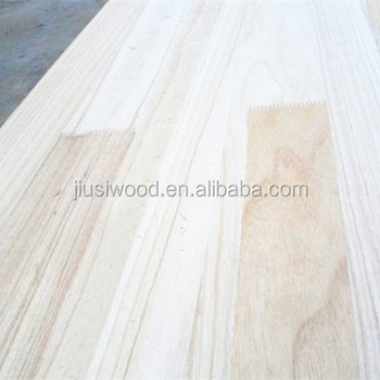 Custom paulownia finger joint board/Paulownia finger joint panel