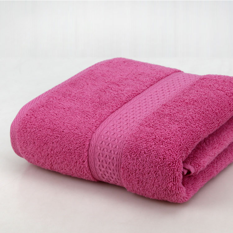 wholesale 100% cotton Sirospun embroidery logo bath towel