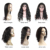 Peruvian perruque full lace 360 frontal remy human hair wigs for black women