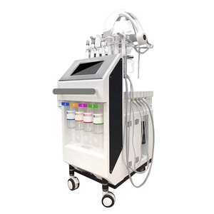 2019 AquaSure H2 + Aqua Facial H2O2 + Oxygen Jet Peel + Photon LED Oxygen Mask 10 in 1 Hydra Dermabrasion Facial Machine