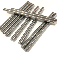 China extruded tungsten carbide rods blanks for gun drills