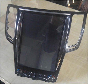 12.1 inch capacitive screen Android 7.1/8.1 car GPS navigator for Infiniti G25/G35/G37 High In low