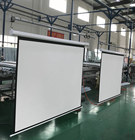 150 inch rear black portable tubular motor outdoor pvc foldable roll up electric motorized projection screen