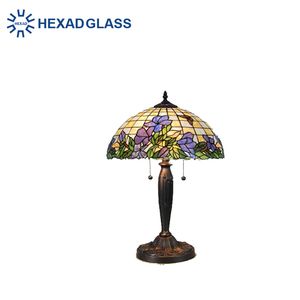 HEXAD Tiffany style stained glass hanging lamp HTL96