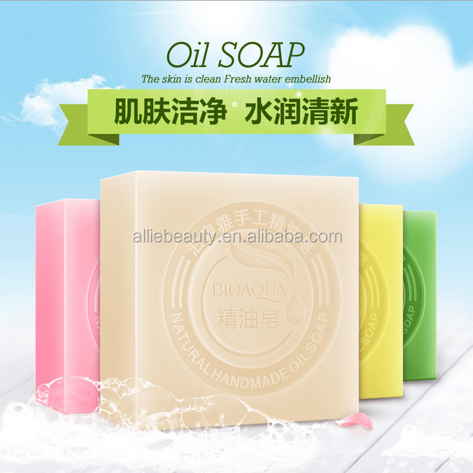 BIOAOUA Wholesale Deep Cleansing Face Soap Cleanser Natural Handmade Oil Soap For Face clean