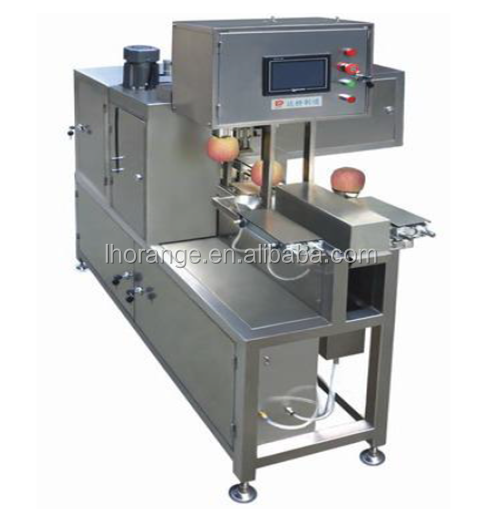 High Quality PLC Controlled Apple Peeling/Coring/Slicing Machine/+86 189 39580276