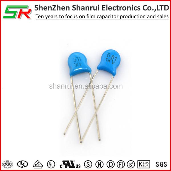 Ceramic Capacitor 222 1kv/high Voltage Ceramic Capacitor