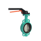 2 inch NBR Handle Cast Iron Water Air Gas Butterfly Valve