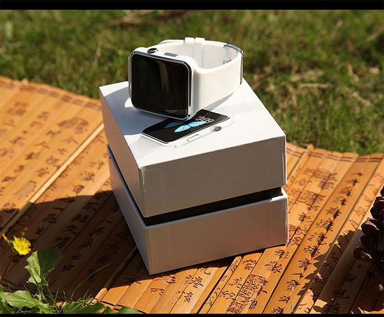 2019 venda quente tela de toque hd x6 smart watch apoio cartão micro sim câmera de vídeo smartwatch android
