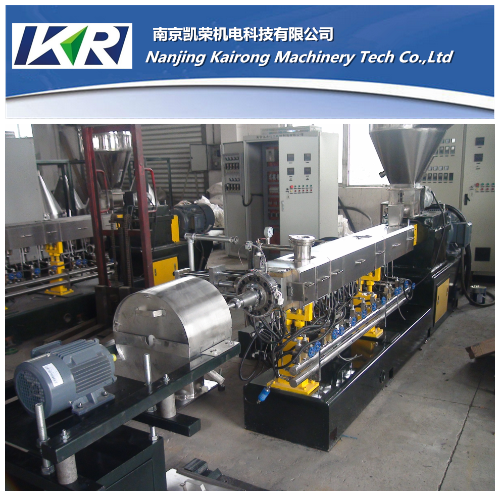 ABS/HIPS plastic sheet extrusion/production line/Hot melt granulator extrusion for plastic compounding machinery