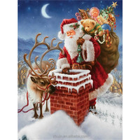 Christmas famous paintings digital diy christmas painting by number