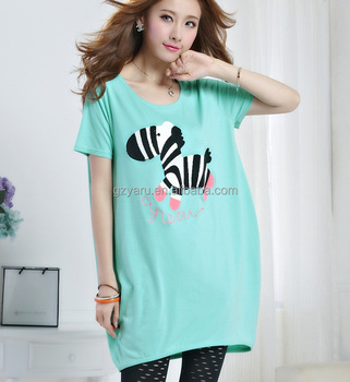 d33d5b9e816 Plus Size Clothing Fat Women T Shirt With Zebra indian Clothing ...