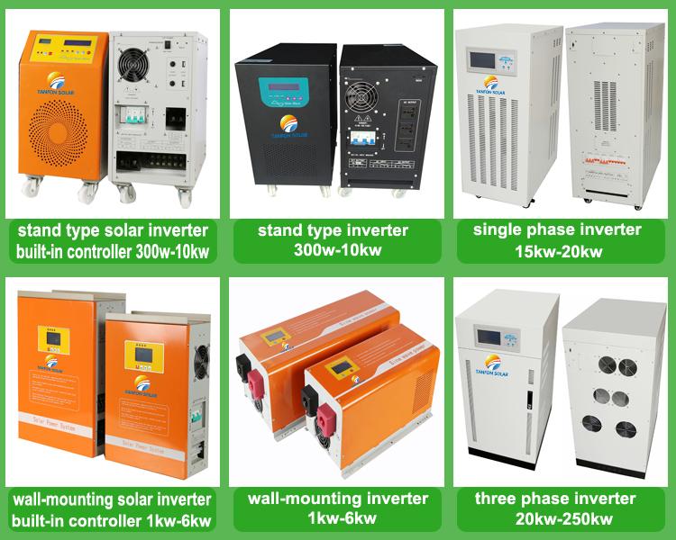Off grid 3 fase solar 20kw Inversor 15kw 20kw inversor de onda senoidal pura energia solar inversor