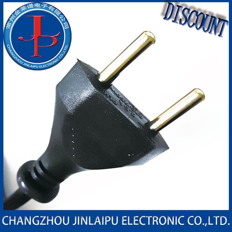 Changzhou JLP ac power cable iec 320 with german plug on one side of good quality