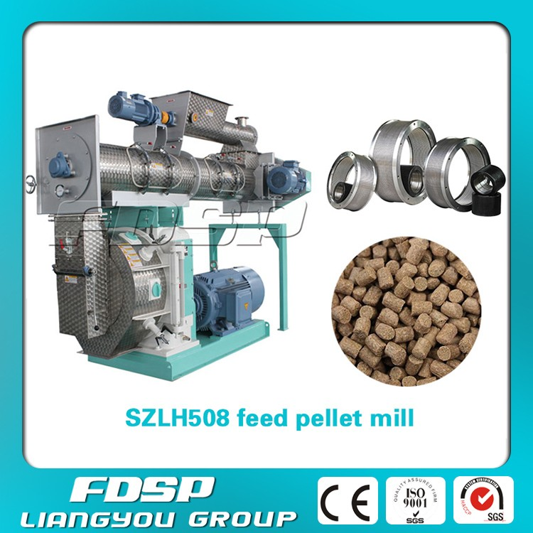 Stable Operation 10tph animal feed pellet mill machine - 1 ton per hour small pellet mills for sale