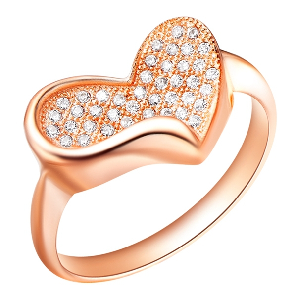 925 Sterling Silver Rose Gold Plated Wedding Band Ring for Women /& Girls
