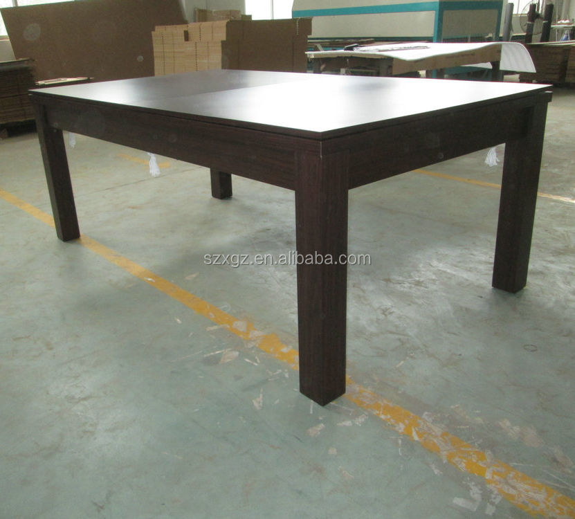 Wholesale popular 2 in 1 pool dining table for cheap price