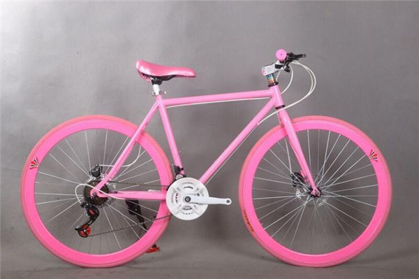 All Red Track Bicycle Red Fixed Gear Bicyclefixie Bicycle With