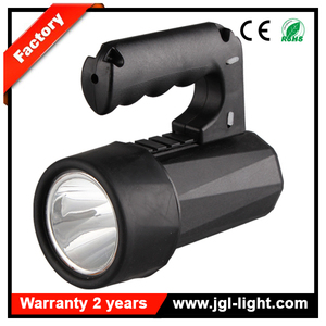 Energy saving USA CREE bulb 1100lm portable outdoor searchlight CREE 10W LED rechargeable searchlight