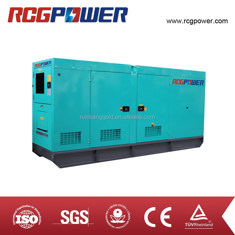 High quality 300kva/240kw soundproof diesel generator