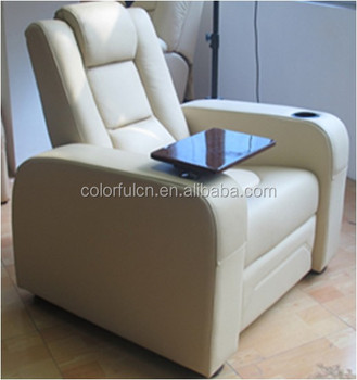 New Design With Writing Pad Recliner Sofa Philippines Ls811